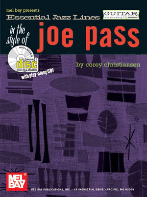 Essential Jazz Lines in the Style of Joe Pass 99560BCD   upc 796279076678