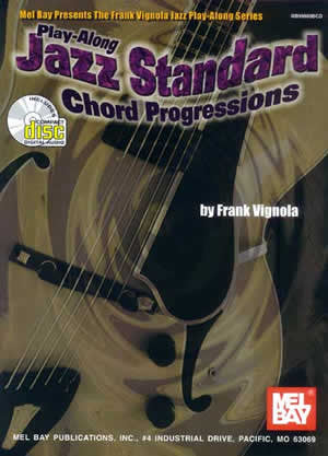 Play-Along Jazz Standard Chord Progressions 99660BCD   upc 796279037457