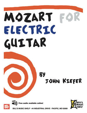 Mozart for Electric Guitar 99972   upc 796279091398