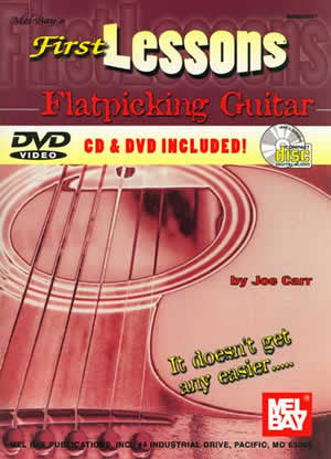 First Lessons Flatpicking Guitar 99973SET   upc 796279043403