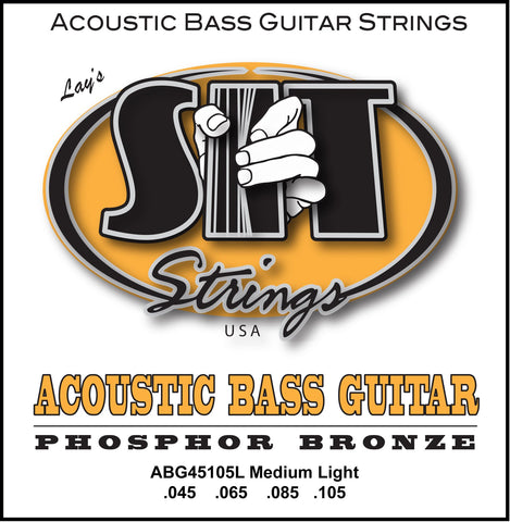 ABG45105L MEDIUM-LIGHT ACOUSTIC PHOSPHOR BRONZE BASS      SIT STRING