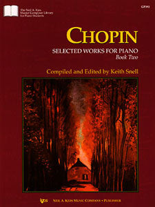 Chopin Selected Works For Piano, Bk2 KJOS GP392   upc