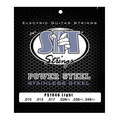 PS1046 LIGHT POWER STEEL STAINLESS ELECTRIC      SIT STRING