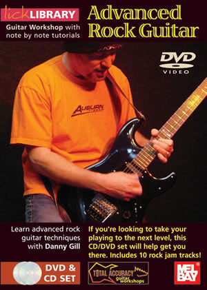 Advanced Rock Guitar  /CD Set DVD/CD Set RDR0015   upc
