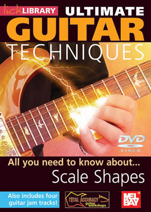 Ultimate Guitar Techniques:  Scale Shapes   DVD RDR0063   upc 5060088820698