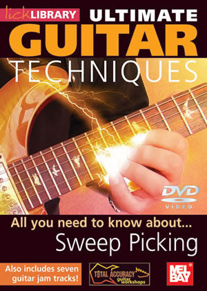 Ultimate Guitar Techniques:  Sweep Picking   DVD RDR0064   upc