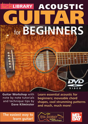 Acoustic Guitar For Beginners   DVD RDR0068   upc 5060088820858