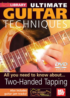 Ultimate Guitar Techniques:  Two-Handed Tapping   DVD RDR0069   upc 5060088820674