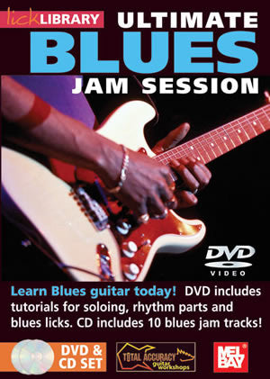 Ultimate Blues Jam Session Volume 1  /CD Set DVD/CD Set RDR0075   upc