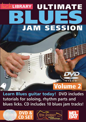 Ultimate Blues Jam Session Volume 2  /CD Set DVD/CD Set RDR0076   upc