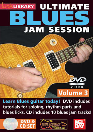 Ultimate Blues Jam Session Volume 3  /CD Set DVD/CD Set RDR0104   upc