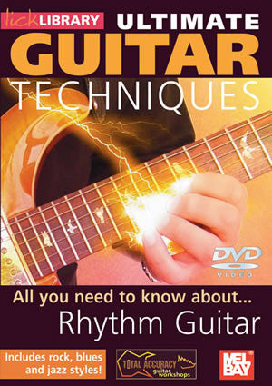 Ultimate Guitar Techniques:  Rhythm Guitar   DVD RDR0110   upc 5060088821022
