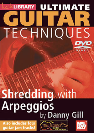 Ultimate Guitar Techniques:  Shredding With Arpeggios   DVD RDR0126   upc