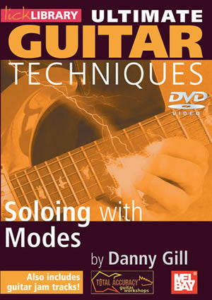 Ultimate Guitar Techniques:  Soloing with Modes   DVD RDR0129   upc