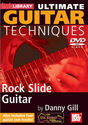Ultimate Guitar Techniques:  Rock Slide Guitar   DVD RDR0133   upc 5060088821428