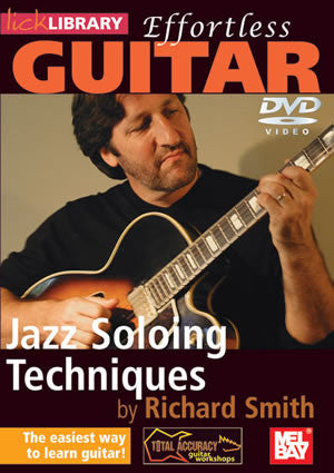 Effortless Guitar: Jazz Soloing Techniques   DVD RDR0137   upc