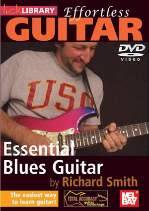 Effortless Guitar:  Essential Blues Guitar   DVD RDR0138   upc