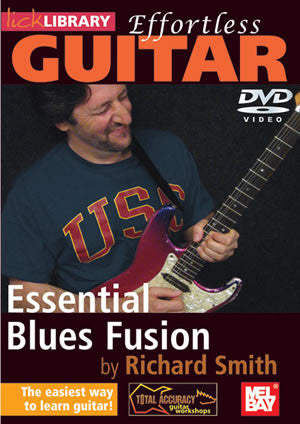 Effortless Guitar:  Essential Blues Fusion   DVD RDR0139   upc