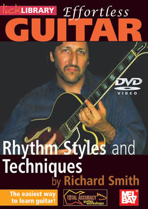 Effortless Guitar: Rhythm Styles & Techniques   DVD RDR0140   upc