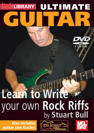 Ultimate Guitar:  Learn To Write Your Own Rock Riffs   DVD RDR0150   upc 5060088821527
