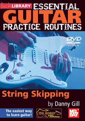 Essential Guitar Practice Routines:  String Skipping   DVD RDR0177   upc