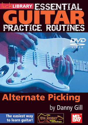 Essential Guitar Practice Routines:  Alternate Picking   DVD RDR0178   upc 5060088821831