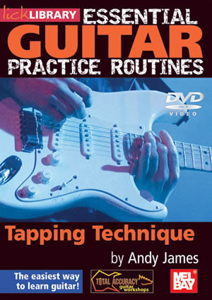 Essential Guitar Practice Routines:  Tapping Technique   DVD RDR0179   upc 5060088821848