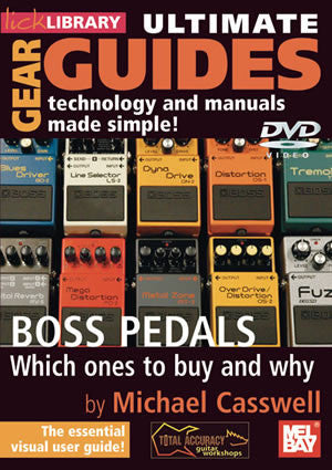 Ultimate Gear Guides:  Boss Pedals   DVD RDR0220   upc