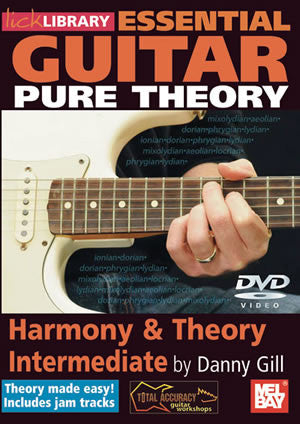 Essential Guitar Pure Theory: Harmony & Theory Intermediate   DVD RDR0243   upc
