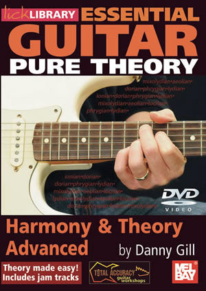 Essential Guitar Pure Theory: Harmony & Theory Advanced   DVD RDR0244   upc