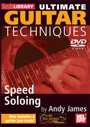 Ultimate Guitar Techniques:  Speed Soloing   DVD RDR0263   upc
