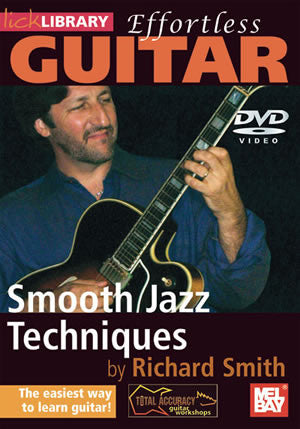 Effortless Guitar: Smooth Jazz Techniques   DVD RDR0280   upc