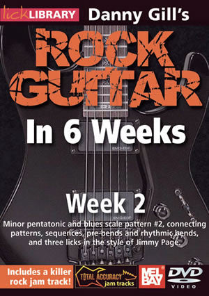 Danny Gill's Rock Guitar in 6 Weeks: Week 2  DVD RDR0329   upc