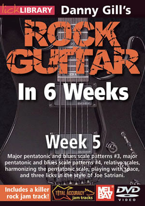 Danny Gill's Rock Guitar in 6 Weeks: Week 5  DVD RDR0332   upc