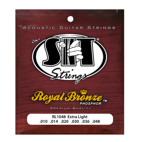 RL1048 EXTRA LIGHT ROYAL BRONZE ACOUSTIC      SIT STRING