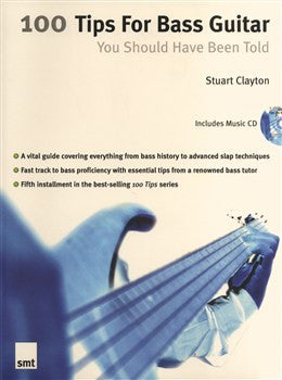 100 TIPS FOR BASS GUITAR YOU SHOULD HAVE BEEN TOLD GTR̴Ì_̴åÇÌÎ_ÌÎ__̴Ì_̴åÇÌÎ_ÌÎ___ SMT1078   upc 9781844920044