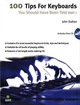 100 TIPS FOR KEYBOARDS YOU SHOULD HAVE BEEN TOLD PART 1 KBD BOOK/CDí«í_í«Œ'íë_íë__í«í_í«Œ'íë_íë___ SMT1936   upc 9781844920051