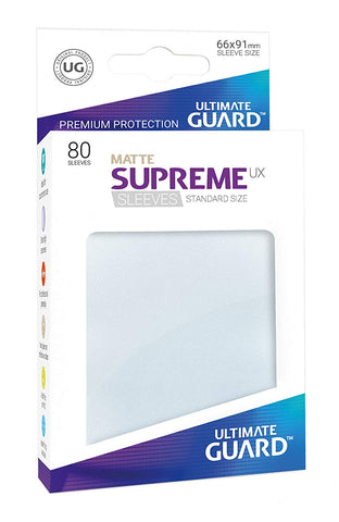 Ultimate Guard Supreme UX Matte Sleeves Standard Size (80)