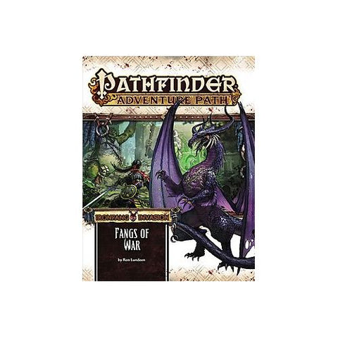 Pathfinder RPG: Fangs of War (Ironfang Invasion 2 of 6) Adventure Path #116