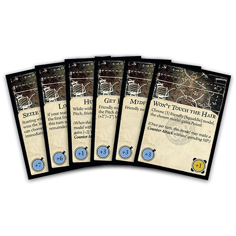 Guild Ball Game Plan Deck