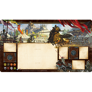 nignights of the Realm Playmat