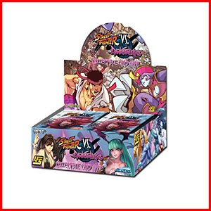 UFS : Street Fighter vs Darkstalkers :1 box of Booster packs