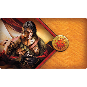 The Red Viper Playmat