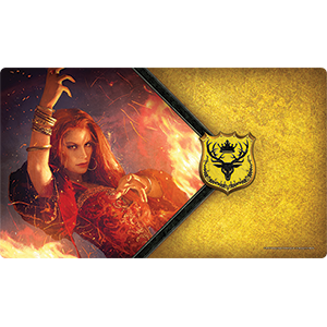 The Red Woman Playmat