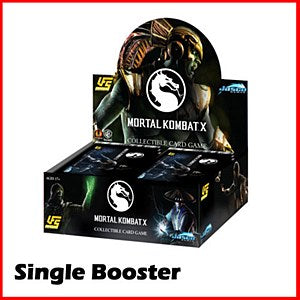 UFS : Mortal Kombat : 1 box of Booster Packs
