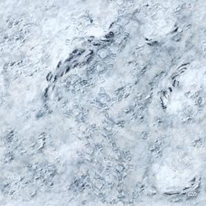 Star wars Hoth Game Mat
