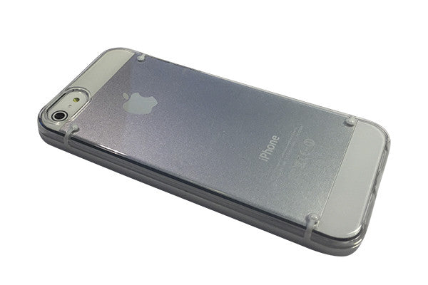 UNIT Don cover til iPhone 5/5S/SE - klar/hvid
