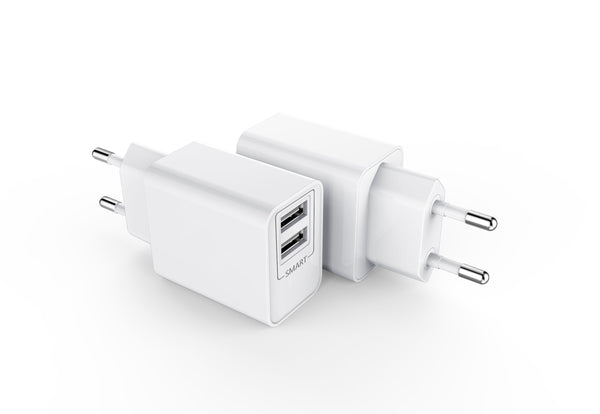Wall adapter 2 port 2,4 A