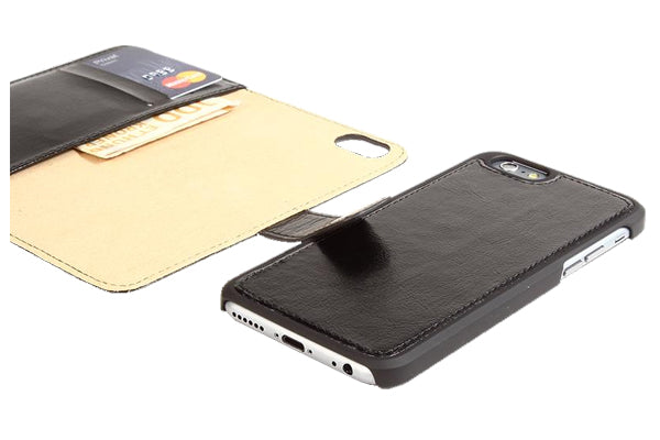 2-in-1 magnet cover for iPhone 6+ - Black