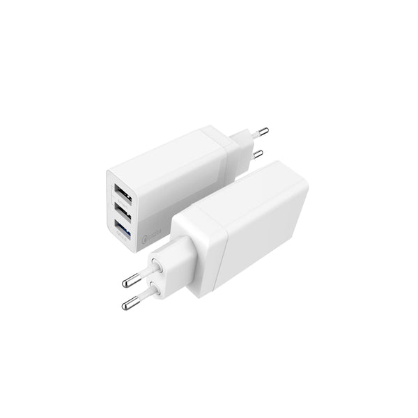 Wall adapter 3 port Fast Charge 3.0
